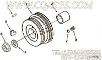3037537O型密封圈,用于康明斯M11-C310动力增压器回油管组,更多【大江特种车】配件报价