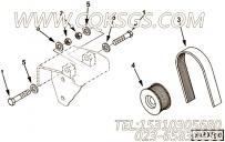 【引擎B215 20的发电机安装件组】 康明斯发电机皮带轮报价,参数及图片