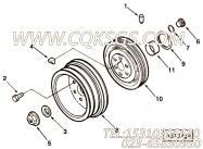 【附件传动皮带轮】康明斯CUMMINS柴油机的3068916 附件传动皮带轮