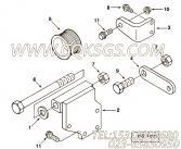 【C3901858】六角法兰面螺栓 用在康明斯发动机