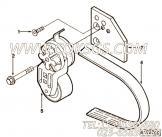 【柴油机6CTAA8.3-G的发电机驱动件组】 康明斯皮带涨紧轮支架报价,参数及图片