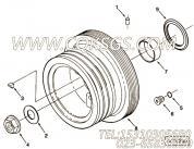 3008947键槽密封,用于康明斯NT855-C280柴油发动机附件驱动皮带轮组,更多【出口台湾轨道车】配件报价