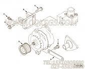 【3926858】发电机皮带轮 用在康明斯发动机
