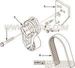 【V型棱皮带】康明斯CUMMINS柴油机的3289582 V型棱皮带