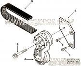 【皮带张紧轮支架】康明斯CUMMINS柴油机的3925192 皮带张紧轮支架