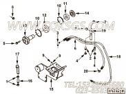 【充电机支架】康明斯CUMMINS柴油机的3939825 充电机支架