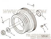 3037536螺塞,用于康明斯M11-C310动力机油冷却器组,更多【牵张机】配件报价