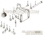 【引擎6CTAA8.3-C260的发电机安装件组】 康明斯六角锁紧螺母报价,参数及图片