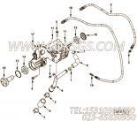 【充电机支架】康明斯CUMMINS柴油机的3970650 充电机支架