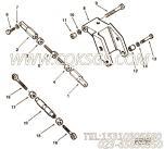 【环首螺栓】康明斯CUMMINS柴油机的3201186 环首螺栓