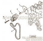 【皮带张紧轮】康明斯CUMMINS柴油机的3904370 皮带张紧轮