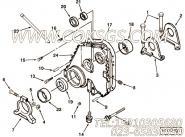 【齿轮罩】康明斯CUMMINS柴油机的3068443 齿轮罩
