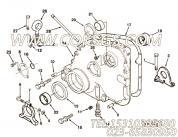 3001726后起吊支架,用于康明斯NTA855-C360主机发动机前支架组,更多【摊铺机】配件报价