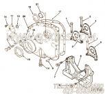 3011712带垫螺栓,用于康明斯NTA855-C360主机发动机前支架组,更多【钻机】配件报价