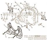 3058664十二角螺栓,用于康明斯NTC-350发动机发动机前支架组,更多【XZ680定向钻机】配件报价