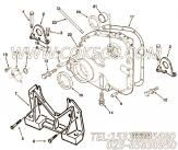3076146齿轮室盖,用于康明斯NTA855-G4发动机发动机前支架组,更多【电力】配件报价