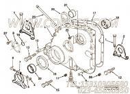 【齿轮罩】康明斯CUMMINS柴油机的3024443 齿轮罩
