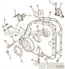 【齿轮罩】康明斯CUMMINS柴油机的212155 齿轮罩