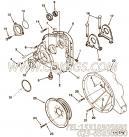 【齿轮罩】康明斯CUMMINS柴油机的3081183 齿轮罩