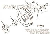 【附件传动皮带轮】康明斯CUMMINS柴油机的AR51851 附件传动皮带轮