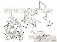 3200642夹板,用于康明斯KTA19-M600动力发动机前支架组,更多【船舶机械】配件报价