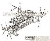 【托架】康明斯CUMMINS柴油机的4095972 托架