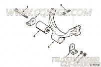 【3918995】发动机前悬置支架 用在康明斯柴油发动机