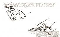 【3279139】发动机前悬置支架 用在康明斯柴油发动机