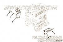 【柴油机EQ4BTAA3.9的发动机前悬置支架组】 康明斯六角头螺栓报价,参数及图片