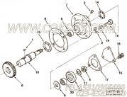 【锁紧螺母】康明斯CUMMINS柴油机的115508 锁紧螺母