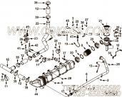 【外螺纹弯头】康明斯CUMMINS柴油机的4952179 外螺纹弯头