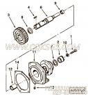 AR45047支架及衬套,用于康明斯KT38-P780柴油发动机燃油泵支架组,更多【消防泵】配件报价