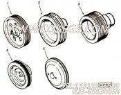 3014695附件驱动皮带轮,用于康明斯KTA19-C525发动机附件驱动组,更多【特雷克斯矿用自卸车】配件报价