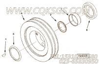 3018761附件驱动皮带轮,用于康明斯KT38-M800柴油机附件驱动皮带轮组,更多【船用主机】配件报价