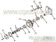 【风扇皮带轮】康明斯CUMMINS柴油机的3008641 风扇皮带轮
