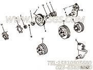 211855风扇主轴,用于康明斯NTA855-C360发动机风扇布置组,更多【破碎机】配件报价