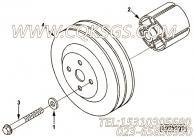 【柴油机6LTAA8.9-C325的风扇隔块组】 康明斯风扇隔块报价,参数及图片