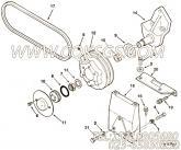 【Belt, V】康明斯CUMMINS柴油机的3040389 Belt, V