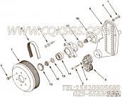 【风机轮毂】康明斯CUMMINS柴油机的3098685 风机轮毂