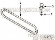 【Belt, V】康明斯CUMMINS柴油机的134809 Belt, V