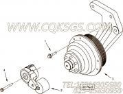 【皮带张紧轮】康明斯CUMMINS柴油机的3682587 皮带张紧轮