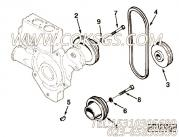【Belt, V】康明斯CUMMINS柴油机的C0511014705 Belt, V