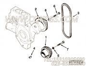 【曲轴皮带轮】康明斯CUMMINS柴油机的C0104171100 曲轴皮带轮