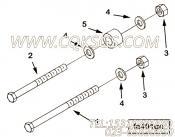 【六角头螺栓】康明斯CUMMINS柴油机的S 166 B 六角头螺栓