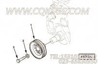 【曲轴皮带轮】康明斯CUMMINS柴油机的C6204331480 曲轴皮带轮