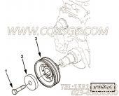 【曲轴皮带轮】康明斯CUMMINS柴油机的C6204331420 曲轴皮带轮