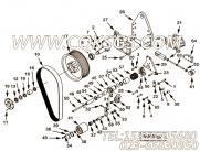 3019416扭力弹簧,用于康明斯KT38-G-550KW动力风扇布置组,更多【发电用】配件报价
