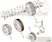 206520卡环,用于康明斯KTA38-G2-660KW主机风扇布置组,更多【电力】配件报价