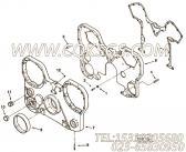 【齿轮罩】康明斯CUMMINS柴油机的3628914 齿轮罩