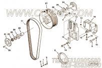 【Support, Fan】康明斯CUMMINS柴油机的3627383 Support, Fan